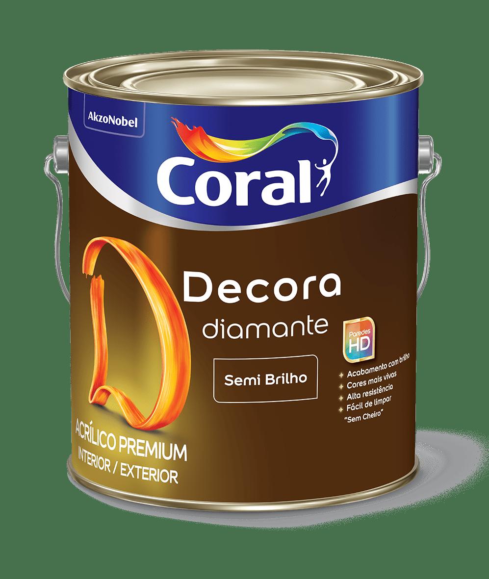 DECORA DIAMANTE SEMI BRILHO